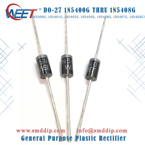 50pcs HER104 1A 300V Rectifier Diode
