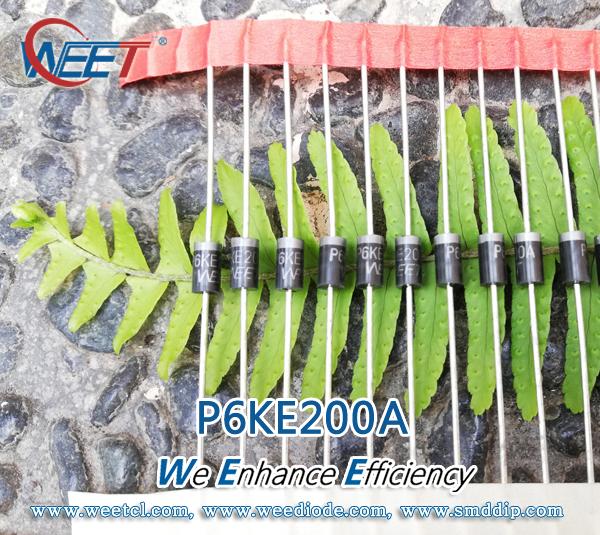 10 diodes TVS P6KE62A 600W 62V